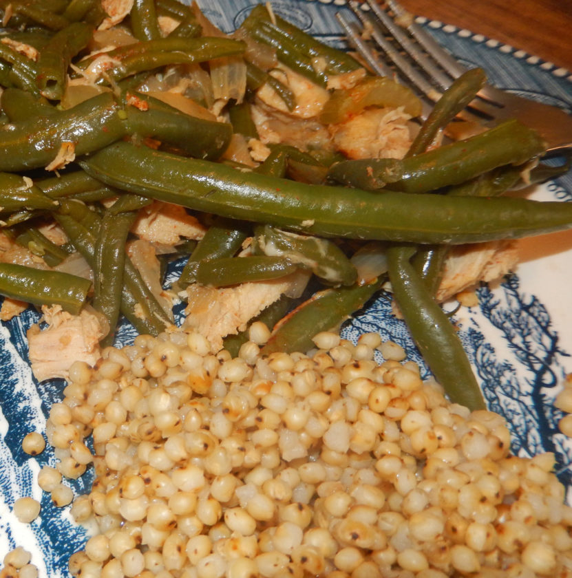 Two-grain, two-bean salad (Photo provided — Yvona Fast)