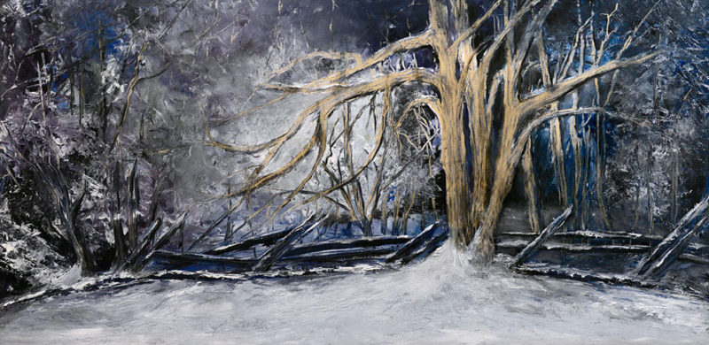 """""""Late at Night"""" by Sandra Young won the People's Choice Award at the Adirondack Artists Guild's recent juried show."""