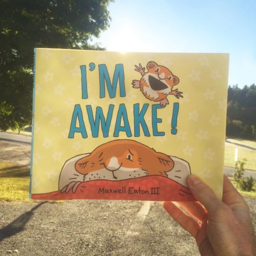 """""""I'm Awake,"""" Maxwell Eaton III's latest children's book, will officially be released Saturday."""