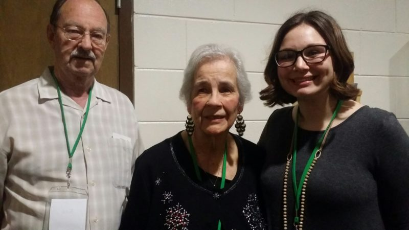 Pictured from left are Ken Wilson, Patricia Keough-Wilson and Katie Poland. (Photo provided)