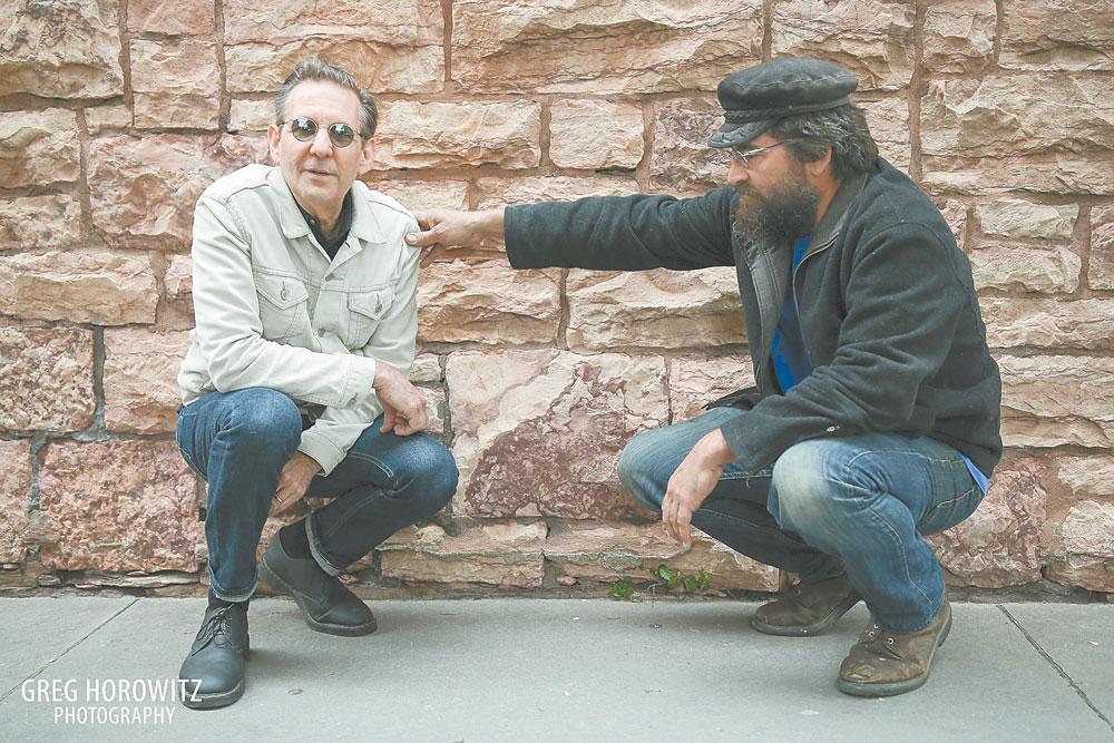 Russ Lawton, left, and keyboardist Ray Paczkowski (Photo provided —Greg Horowitz Photography)