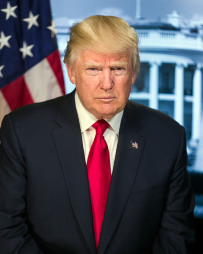 President Donald Trump (Official photo)