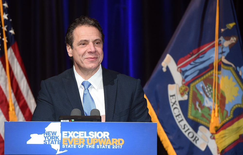 New York Gov. Andrew Cuomo (Photo provided by the governor's office)