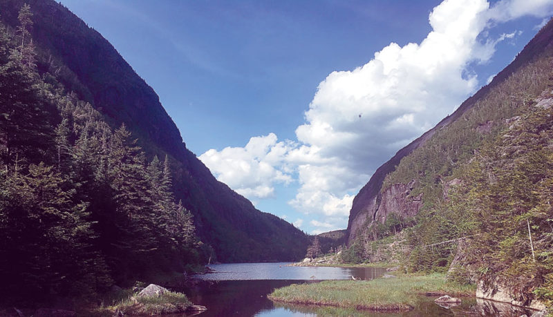 Avalanche Lake in the High Peaks Wilderness is seen in June 2016. (Enterprise photo — Antonio Olivero)