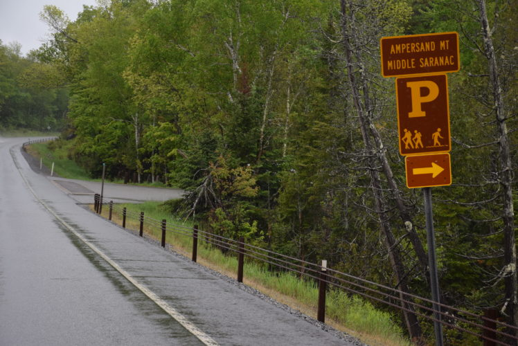 The Ampersand Mountain trailhead between Saranac Lake and Tupper Lake would be moved and expanded under a proposal in the recently released Saranac Lake Wild Forest Unit Management Plan. (Enterprise photo — Justin A. Levine)