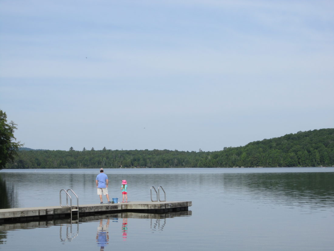 Celebrate Father's Day at the annual Saranac Lake Fish and Game Club's free fishing derby. (Photo provided — Diane Chase)