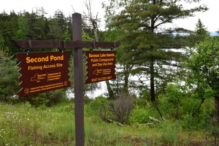 The state Department of Environmental Conservation is proposing numerous changes to the Saranac Lake Islands Campground, located just outside of Saranac Lake. In one form or another, the state has regulated camping on Middle and Lower Saranac lakes, as well as on Weller Pond and First and Second ponds, for just over a century. (Enterprise photo — Justin A. Levine)