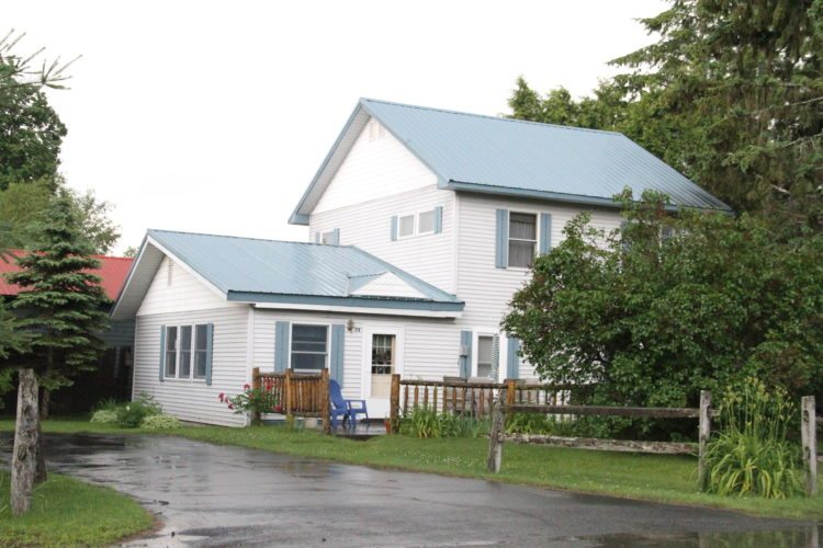 This vacation rental property on Church Street in Lake Placid is currently listed online. (Enterprise photo — Andy Flynn)