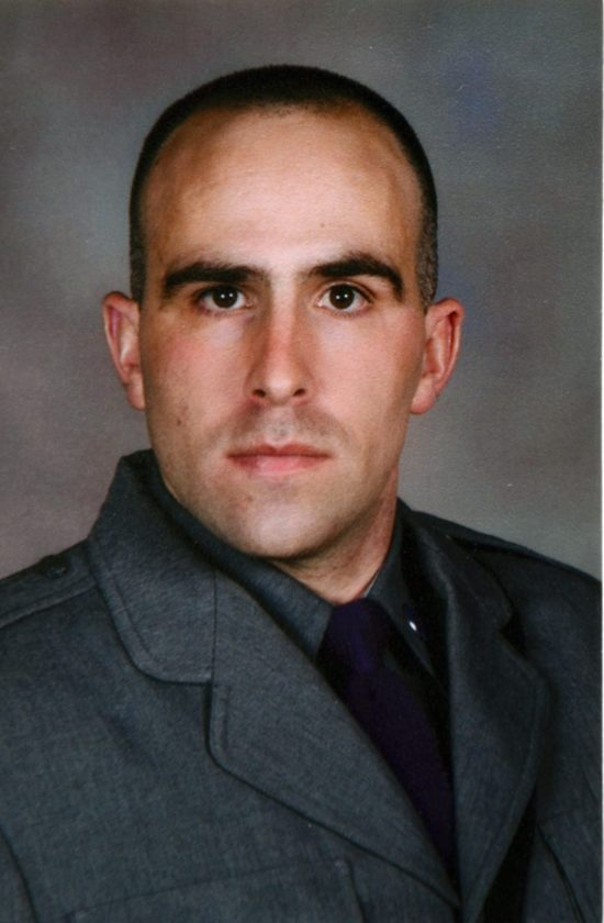 Trooper Joel Davis (Photo provided by New York State Police)