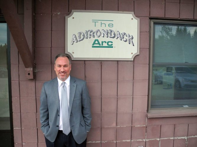 Scott Stiles, the new CEO of the Adirondack Arc will focus on its finances by fund raising at the Rock the Arc rock show Aug. 12. (Enterprise photo — Aaron Cerbone)