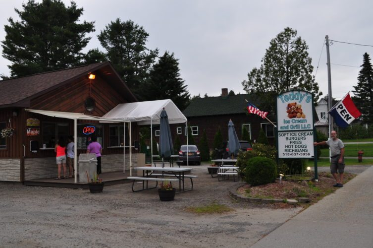 Stephen and Monica Schmidt announced they will be expanding to a 50-seat addition at Teddy's Ice Cream and Grill located 1663 state Route 3 in Bloomingdale. They will serve ice cream, burgers, fries, hot dogs, michigans and more. Teddy's is open every day from 11 a.m. to 9 p.m. (Enterprise photo — Lindsay Munn)
