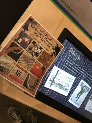 Become an Object Detective at the Lake Placid Olympic Museum. (Photo provided — Diane Chase)