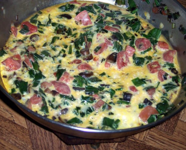 Harvest Frittata (Photo provided — Yvona Fast)
