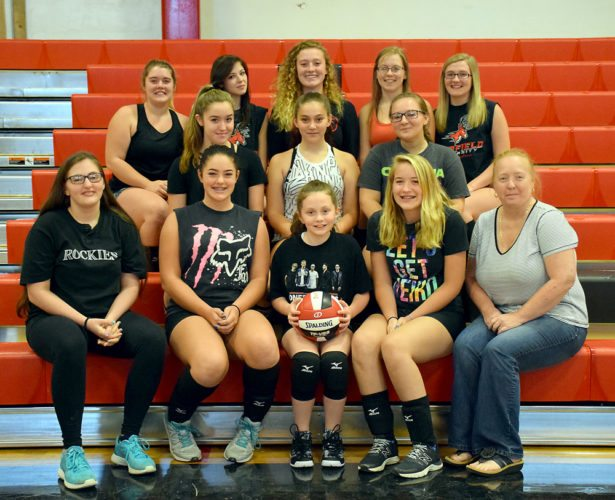 Tupper Lake volleyball (Enterprise photo — Justin A. Levine)