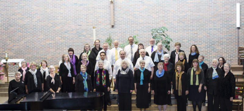 The 2017 Adirondack Singers (Photo provided — BobSweet)