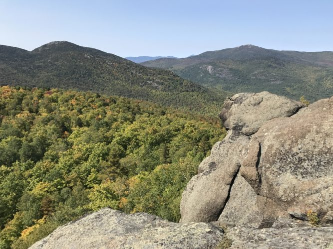 A view of Hurricane Mountain from Owl Head Lookout  (Photo provided — Diane Chase)