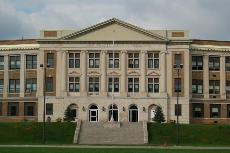 Lake Placid Middle-High School (Enterprise photo — Andy Flynn)