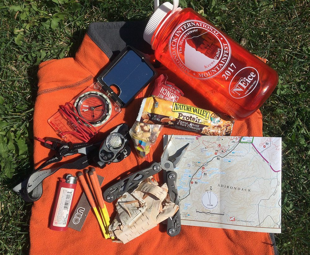 Being prepared for a backcountry adventure includes telling a reliable person where you are going and when to expect you back, as well as carrying food, water, navigation aids and other essentials. (Enterprise photo — Justin A. Levine)