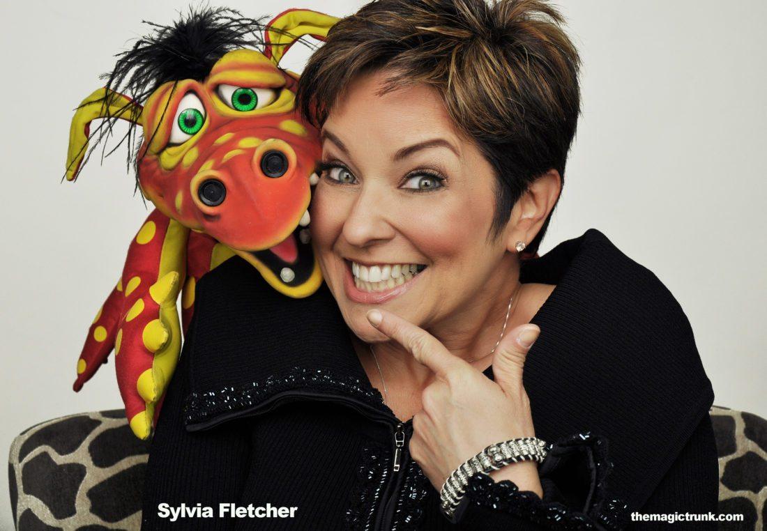 "Sylvia Fletcher and ""Smoulder"" (Photo provided)"