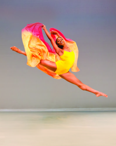 A performer in Ailey II (Photo provided)