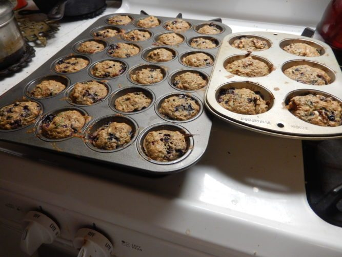 Cinnamon apple muffins  (Photo provided — Yvona Fast)