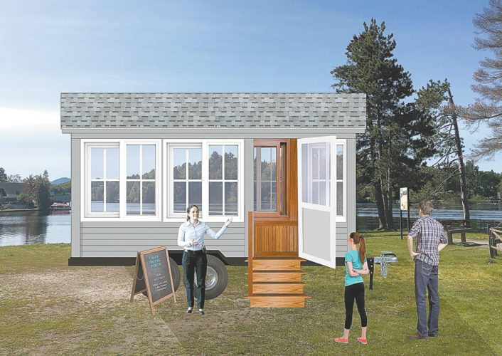 Historic Saranac Lake will implement the Cure Porch on Wheels project in 2018 thanks to major grants it received. (Image provided)