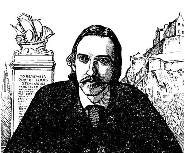Robert Louis Stevenson (Image provided)