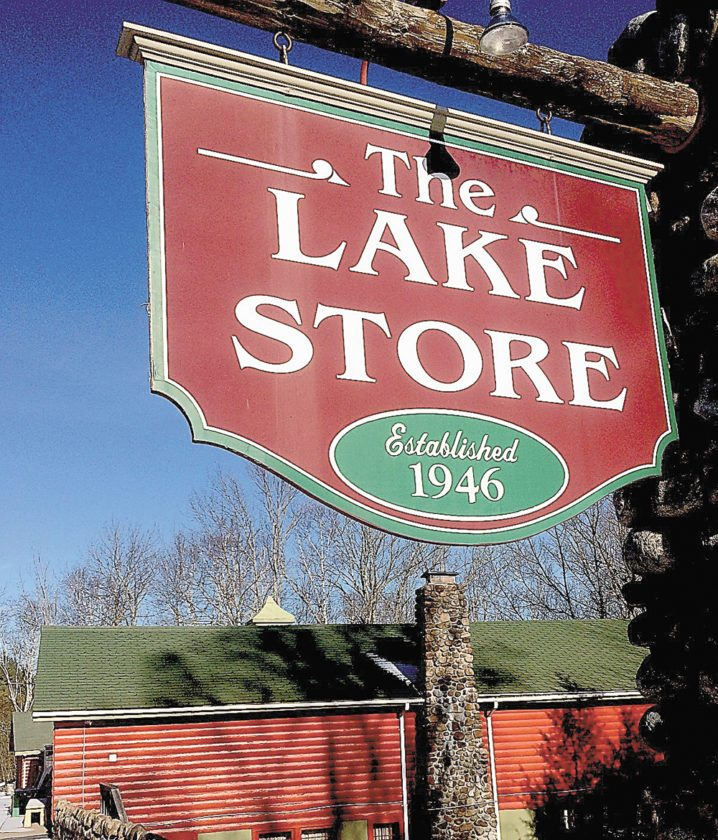 The Lake Store, founded in 1946, is now closed and about to be put up for sale. (Photo provided — Bill Quinlivan)