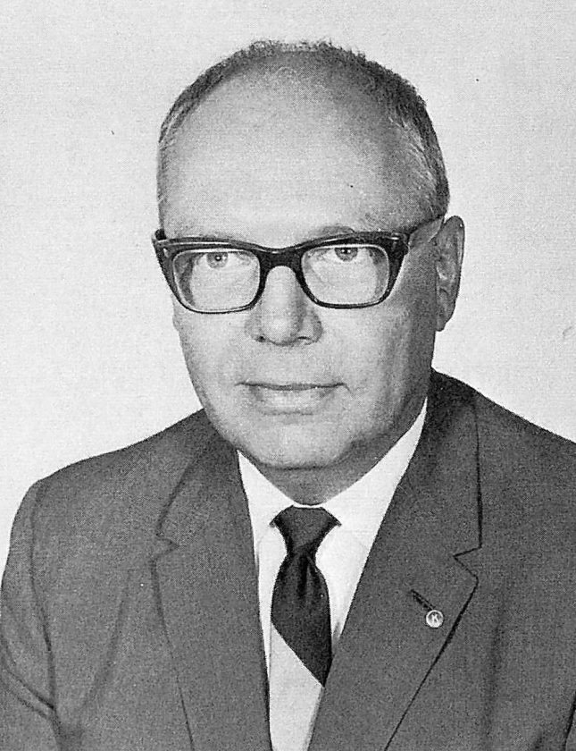 Dr. George Hodson Jr., North Country Community College's first president