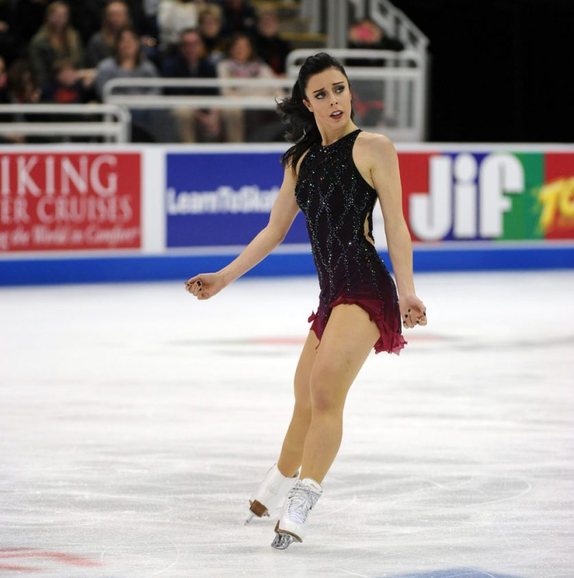 Ashley Wagner of the United States is a World silver medalist, three-time national champion and Olympian. (Photos provided by U.S. Figure Skating)