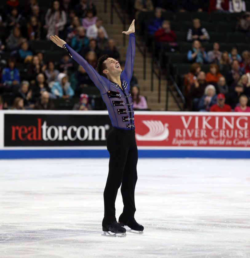 Adam Rippon is the 2016 U.S. national champion. (Photo provided)