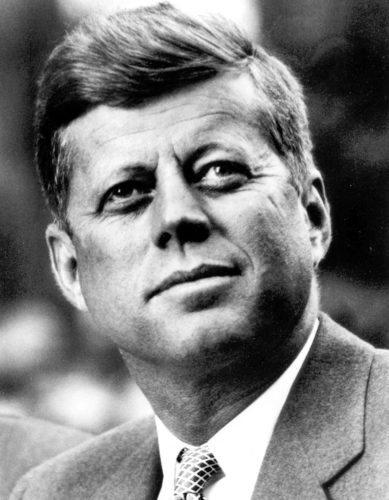 President John F. Kennedy (White House photo)