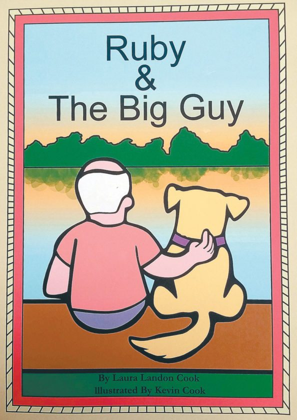 """Ruby and the Big Guy"" is available at the Community Store on Main Street in Saranac Lake."