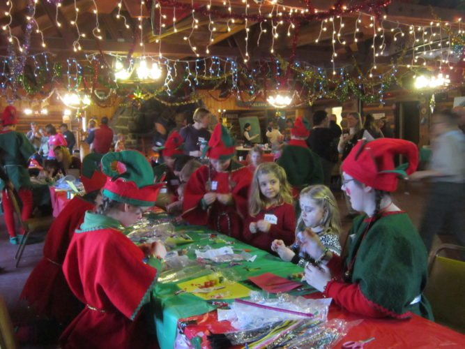 Join elves at the 22nd annual Joy of Giving Party. (Photo provided — Diane Chase)