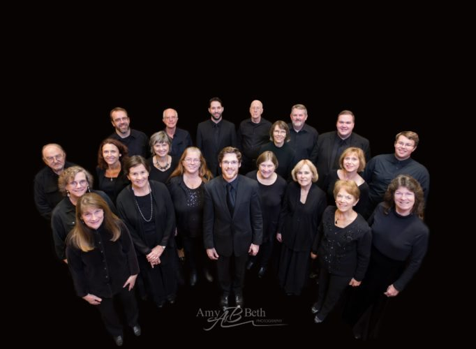 The 2017 Northern Adirondack Vocal Ensemble (Photo provided — Amy Burdt)