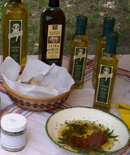 A selection of olive oils (Photo provided — Yvona Fast)