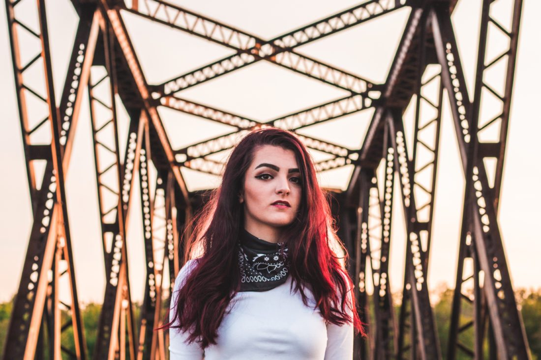 "Emily Mitchell of Tupper Lake released her debut album, ""Retrospect,"" last Saturday. She will hold a release party and concert at Raquette River Brewing tomorrow. (Photo provided — Evan Maroun)"