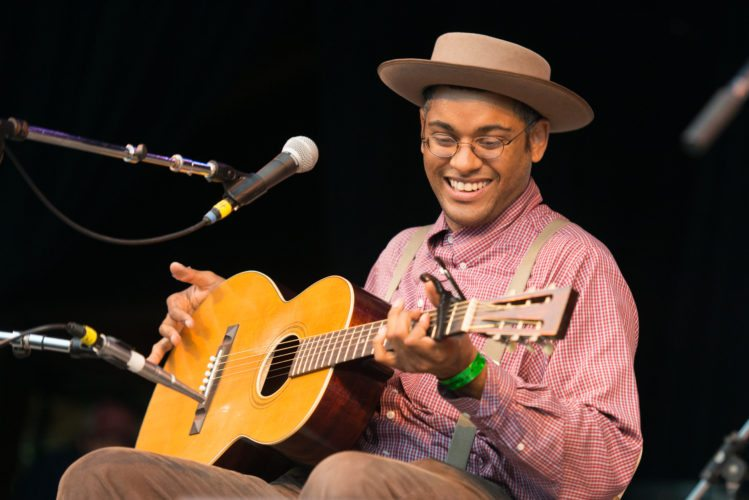 Carolina Chocolate Drops founder Dom Flemons will perform tonight at BluSeed Studios. (Photo provided — Laura Carbone)