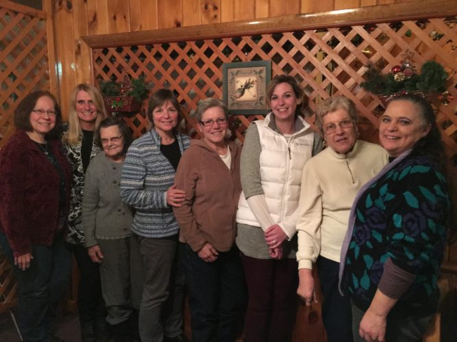 Pictured are Leslie Bell, Patti Sauvie, Barb Darrah, Cheri Fisher, Barbe Skiff, Misty Minnie, Deb Donaldson and Marie Aymee Fisk. (Photo provided)