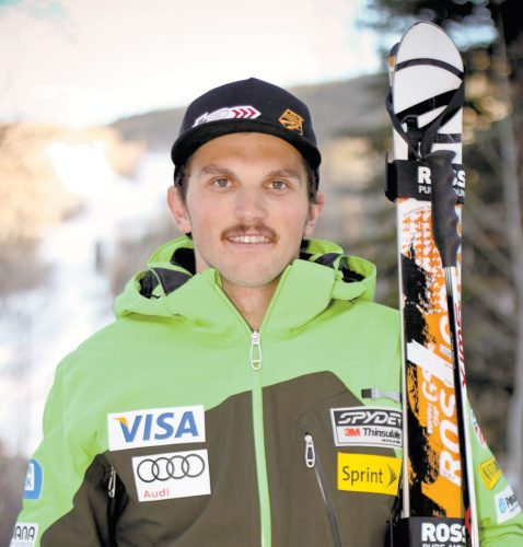 Tommy Biesemeyer of Keene in 2012 (Photo provided by U.S. Ski Team)