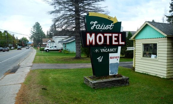 """Among other things, a """"Rooftop Highway would take away traffic — and hurt local businesses on state Route 3 in places such as Tupper Lake, seen here. (Enterprise photo — Aaron Cerbone)"""