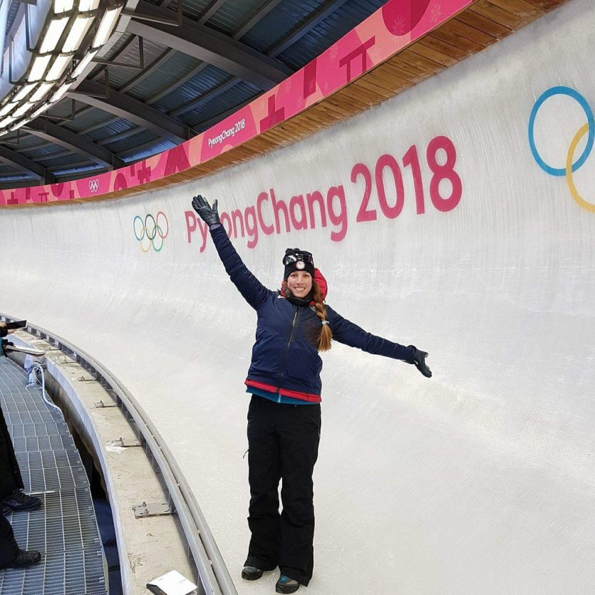 United States Olympic luger Erin Hamlin of Remsen posted this photo from South Korea on her Facebook page.  (Photo provided)