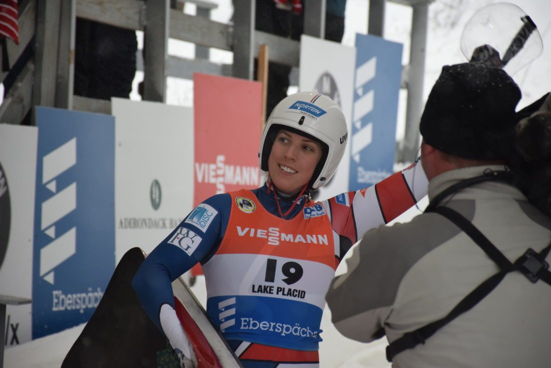 Hamlin takes 6th place, leading U.S.  luge women