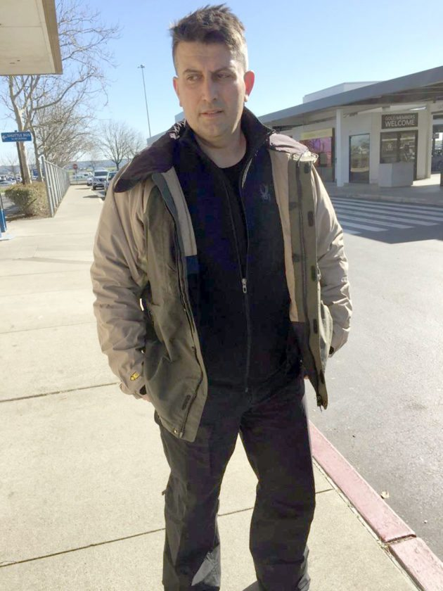 """Constantinos """"Danny"""" Filippidis of Toronto is seen Tuesday in Sacramento, California. (Photo provided by New York State Police)"""