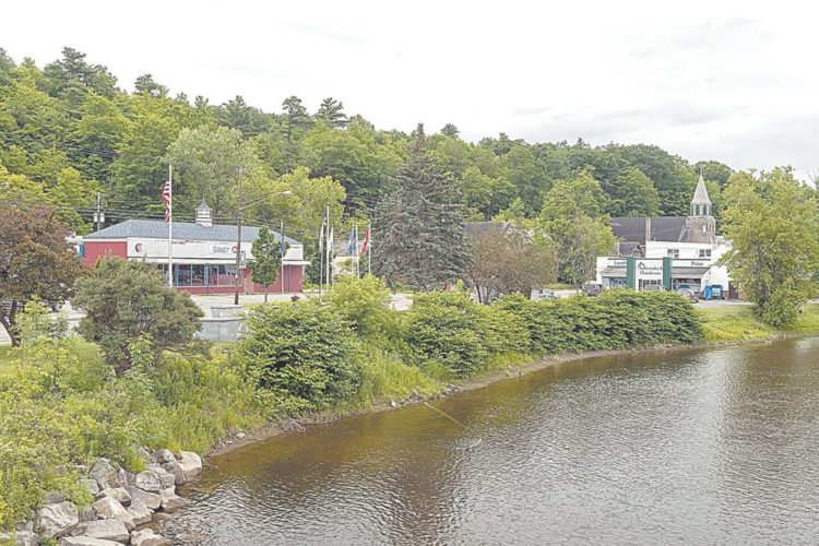 "The Adirondack Chapter of The Nature Conservancy added 10 acres to its Boquet River Nature Preserve in Willsboro, and also bought the former IGA grocery store building, seen here, to be turned into a ""makerspace."" (Photo provided by TNC)"