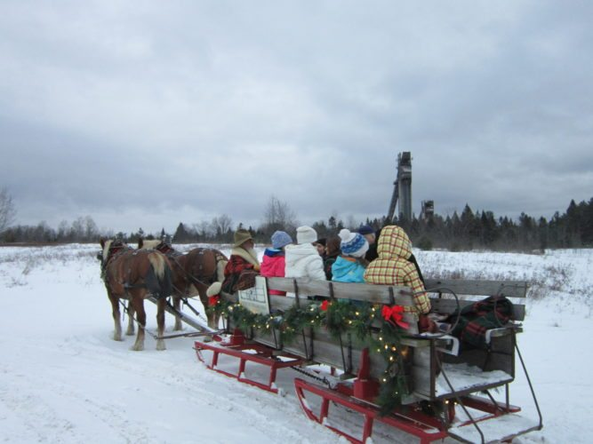 Country Dream Farms offers Adirondack sleigh rides at John Brown Farm  (Photo provided — Diane Chase)