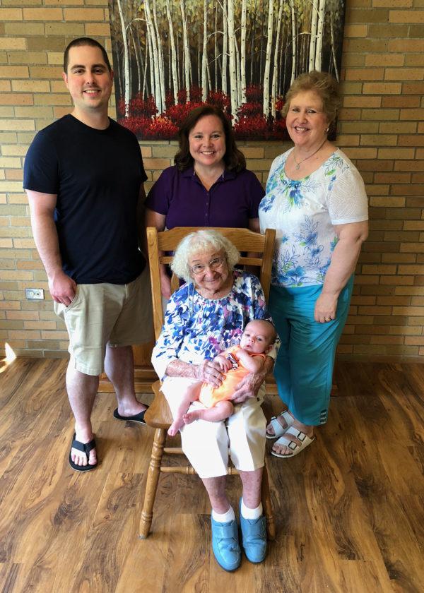 Family celebrates 5 generations News Sports Jobs Adirondack