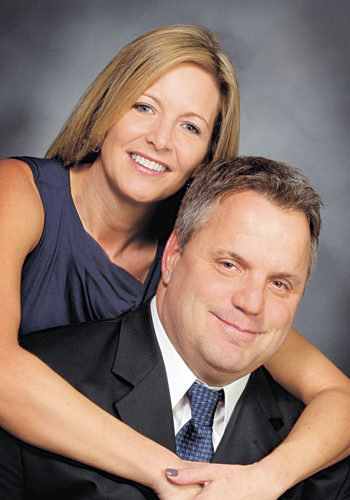 """James and Gina Reuter are celebrating their 35th wedding anniversary Sunday,  Feb. 26, 2017. They are planning a tropical vacation and a celebration with family at a later date.  Gina (Esposito) is the daughter of the late Vern and Shirley Fisher and is a paralegal and legal administrator at Meyer & Kerschner Ltd. law firm in Tiffin and Columbus. Jim is the son of John """"Jack"""" E. Reuter and the late Marilyn Reuter and is a mechanical engineer at National Machinery in Tiffin.   They are the parents of two daughters, Jamie (Keith) McDougal of Basalt, Colorado, and Shannon (Andrew) Zwicker of Brooklyn, New York."""