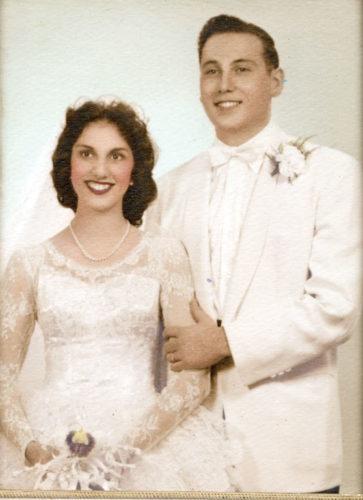 Kathleen and David Laube