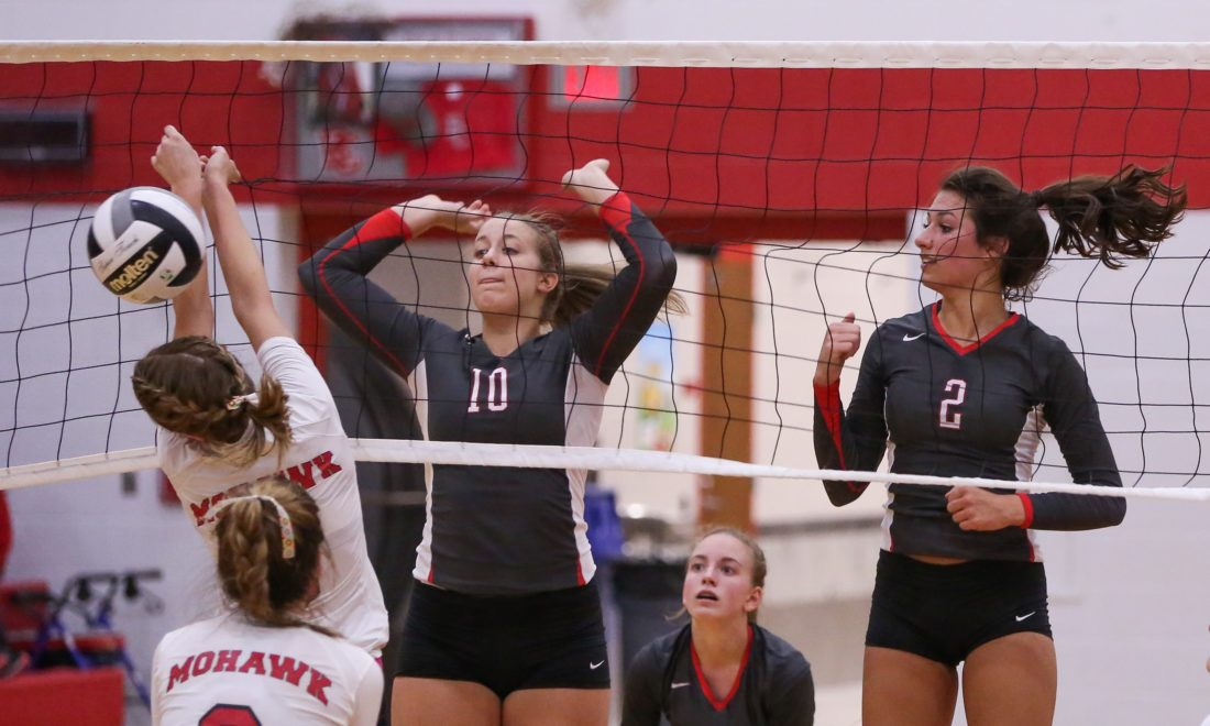 PREP VOLLEYBALL: Davis comes from behind to beat Clearfield in 5 sets